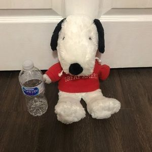 Snoopy plush peanuts decor